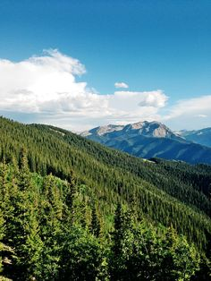 Colorado, i went here. The mountains are truly beautiful