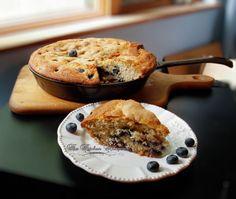 blueberry skillet cake6
