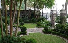 charleston courtyards - Google Search