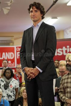 Liberal Party Leader Justin Trudeau Editorial Stock Photo - Image of trudeau, stage: 34086928 Liberal Party, Moving To Canada, Photo Texture, Justin Trudeau, Abstract Photos, World Leaders, Man Candy, Rally, Royals