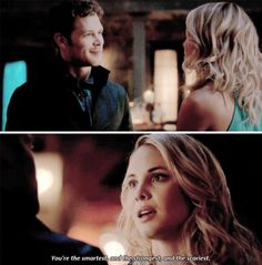 "#TheOriginals 3x02 ""You Hung the Moon"" - Klaus and Cami"