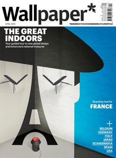 """The great indoors"": Wallpaper cover series - France"