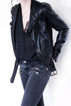 Meilleures Femme Veste Clothes Fashion Cuir Images Tableau 182 Du fqdapaw