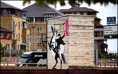 Banksy Highwayman