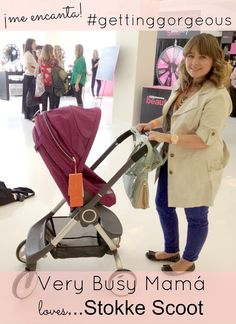 Testing out the #Stokke Scoot!