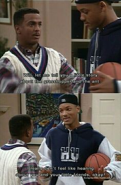 Fresh Prince of Bel Air - oh my gosh hysterical! Fresh Prince, Prinz Von Bel Air, Stranger Things, Funny Memes, Hilarious, Memes Humor, Tv Quotes, Movie Quotes, Just For Laughs