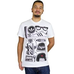 Adidas Originals T-Shirt SST Look weiß