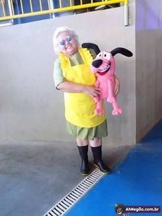 I see your best cosplay ever and raise your Courage the Cowardly Dog