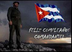 @redonacarabobo le desea Feliz Cumpleaños al Comandante Fidel Castro en sus 90 años de lucha #FelizCumpleañosFidel