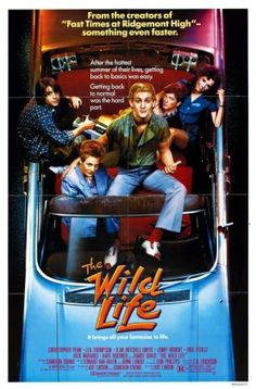 The Wild Life is a 1984 comedy-drama film, written by Cameron Crowe and directed by Art Linson. Eddie Van Halen and Donn Landee composed the film's score. Teen Movies, Cinema Movies, Comedy Movies, Ilan Mitchell Smith, Jenny Wright, Chris Penn, Grunge Teen, Eric Stoltz, Rick Moranis