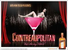 Dita Von Teese is the artistic director of Cointreau Privé! Le Cointreau Privé, is an exclusive Cocktail bar in Paris that will open on September 28th, from 7 pm to 2 am, for just one month durin…