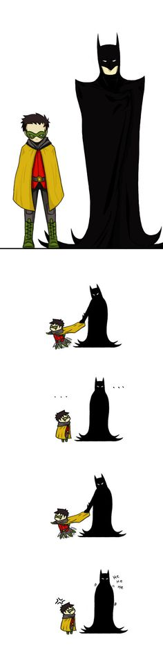 Ah Dick Grayson and Damien.