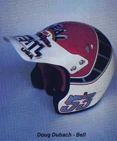 1986 Troy Lee Designs Bell Moto-3 of Doug Dubach | Flickr - Photo Sharing!