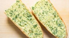Pão de alho e salsa