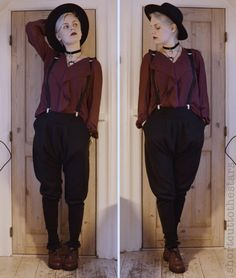 Fashion You are in the right place about tomboy fashion joggers Here we offer you the most beautiful Witch Fashion, Queer Fashion, Tomboy Fashion, Fashion Outfits, Fashion Goth, Girl Fashion, Looks Style, Style Me, Girl Style