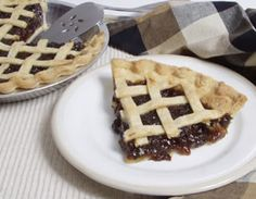 """Mincemeat Pie  My father called this """"funeral pie"""""""