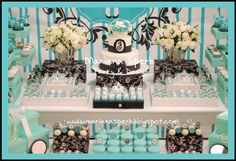 "Photo 1 of 8: Tiffany's & Co, Breakfast At Tiffany'S / Birthday ""Tiffany's Party"" 