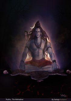 Rudra Shiva, Mahakal Shiva, Shiva Art, Photos Of Lord Shiva, Lord Shiva Hd Images, Lord Ganesha Paintings, Lord Shiva Painting, Angry Lord Shiva, Indiana