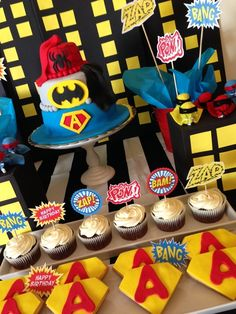 Incredible super hero party!  See more party ideas at CatchMyParty!
