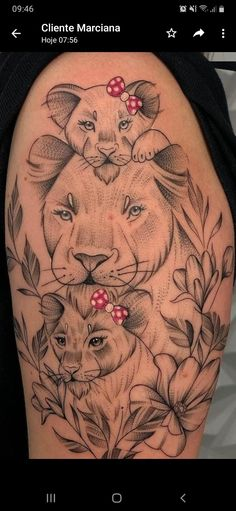 Leo Tattoos, Animal Tattoos, Rose Tattoos, Body Art Tattoos, Tattos, Hip Thigh Tattoos, Hip Tattoos Women, Sleeve Tattoos For Women, Simplistic Tattoos