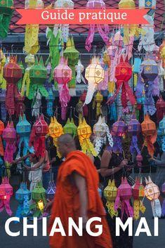 Visiter Chiang Mai en Thaïlande le guide de voyage pratique complet pour un voyage lent et/ou nomade à Chiang Mai. Chiang Mai ne se visite pas à coup d'incontournables, mais plutôt à petits pas, de temples en temples et de marchés en marchés... Quand aller à Chiang Mai? Comment s'y rendre? Que faire et que visiter? Où dormir à Chiang mai? Comment trouver un appartement? Toutes mes bonnes adresses pour manger et boire un café, le budget mes conseils pour les nomades. #voyage #chiangmai… Business Trip Packing, Travel Packing, Business Travel, Asia Travel, Chiang Mai, Chang Mai Thailand, Slow Travel, Beautiful Places To Travel, Amazing Places