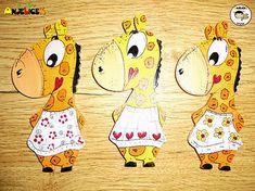 anjelicek / Magnetka - žirafa Snoopy, Fictional Characters, Art, Kunst, Fantasy Characters, Art Education, Artworks