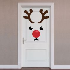 Diy Christmas Door Decorations, Christmas Classroom Door, Office Christmas, Christmas Art, Christmas Projects, Simple Christmas, Removable Wall Decals, Vinyl Decals, Christmas Crafts