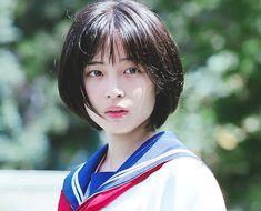 Shot Hair Styles, Model Face, Ombre Hair Color, Japanese Girl, Asian Beauty, Cute Girls, Beauty Hacks, Hair Cuts, Hair Beauty