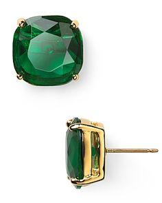 Kate Spade Emerald Small Earrings $38