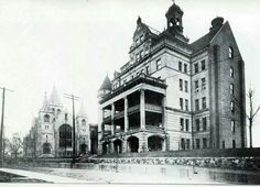 St. Francis Hospital 1912 Pekin Illinois, East Peoria, St Francis, Local History, Historical Pictures, Old Pictures, Vintage Advertisements, Vintage Photos, Scenery