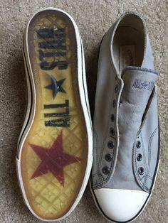 Converse by John Vavartos Men's Low Top Slip on Sneakers Size 12 Authentic | eBay