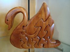 #Lovely swan design puzzle. Great gift idea from highlander.uk.com/Twitter/Pinterest