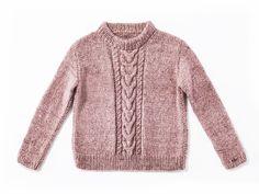 Einen Pullover mit Zöpfen zu stricken, ist etwas aufwendiger. Aber die Arbeit lohnt ...