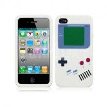 silicon iPhone gameboy cover