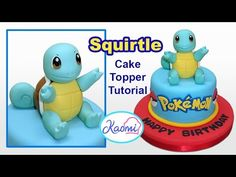 Pokemon: Pikachu Cake Topper / Cómo hacer a Pikachu para tortas - YouTube