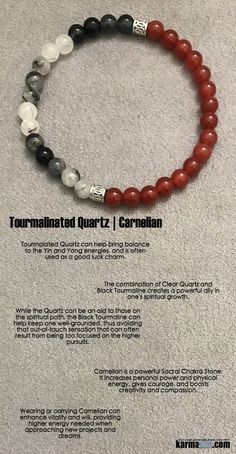 Carnelian encourages initiative and determination.  Carnelian is a powerful Sacral Chakra Stone. It increases personal power and physical energy, gives courage, and boosts creativity and compassion.    ..…..Beaded Bracelets. Yoga Chakra Mala Stretch Jewelry. Energy Healing Crystals Stacks. Handmade Reiki Mala. Mens Womens…..