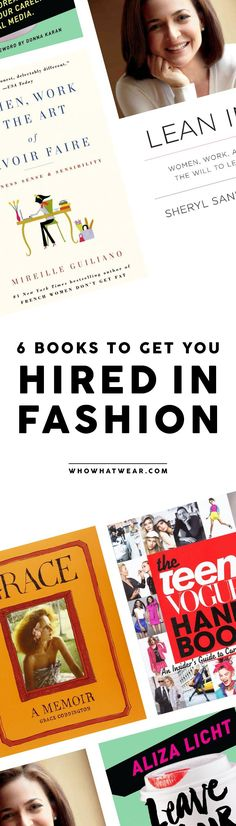 Looking to start a career in fashion? Read this editor-approved books