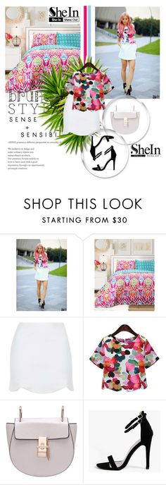 """""""Sheln-sheln!!"""" by amrafashion ❤ liked on Polyvore featuring Lush Décor, Topshop and Boohoo"""