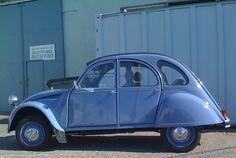 blue Citroën