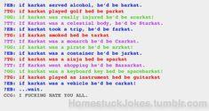 homestuck jokes - Google Search