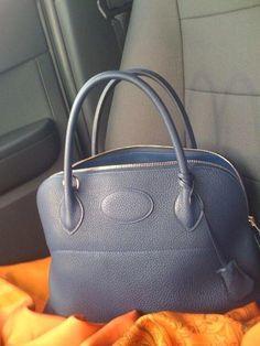 Bleu Abysse Bolide  Hermeshandbags Hermes Bags b71c0edc96d08