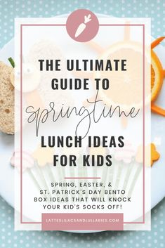 Your kids will love these creative spring bento box lunch ideas. Even the pickiest of eaters won't be able to resist the adorable designs. Lunch Box Recipes, Lunch Ideas, Bottles For Breastfed Babies, Food Art For Kids, Easter Lunch, Gift Guide For Him, Bento Box Lunch, Easter Crafts For Kids, Lilacs