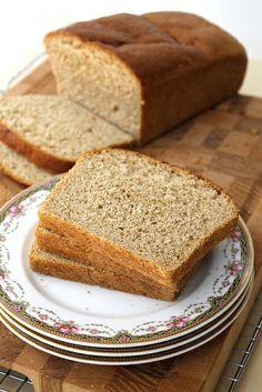 Whole Wheat Maple Oatmeal Bread