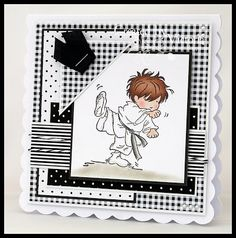 Lili of the valley stamp Bday Cards, Kids Birthday Cards, Cute Cards, Men's Cards, Penny Black Stamps, Handmade Card Making, Beautiful Handmade Cards, Square Card, Card Sketches