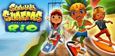 Subway Surfer World Tour Rio Unlimited Coins http://www.androrat.com/2013/01/subway-surfers-170-mod-unlimited-coins.html