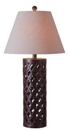 Kenroy Home 32258GFBR Cut Out Table Lamp, Golden Flecked Bronze Finish Kenroy Home,http://www.amazon.com/dp/B00AB0MXPY/ref=cm_sw_r_pi_dp_jF8-sb0N2XS4TQVK