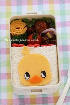 チキンラーメン ひよこちゃんのお弁当*キャラ弁 レシピブログ