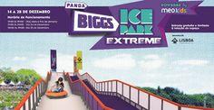 De 14 a 28 de dezembro de 2012 vai haver um Ice Park Extreme no parque Eduardo VII em Lisboa, promovido pelo canal Biggs e o MEO Kids, em colaboração com a Câmara Municipal de Lisboa.    http://www.destinoslusos.com/2012/12/ice-park-extreme-lisboa-2012-pista-de.html