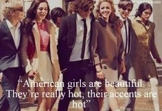 Thats right, THEY SAID IT <3 Im meant to get a brit <3