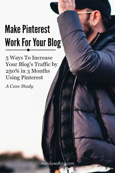 Tips to increase traffic to your author website when you're new, don't know SEO, and just want to share your work with the world. Five ways to increase your blog's traffic 250% using Pinterest, a case study